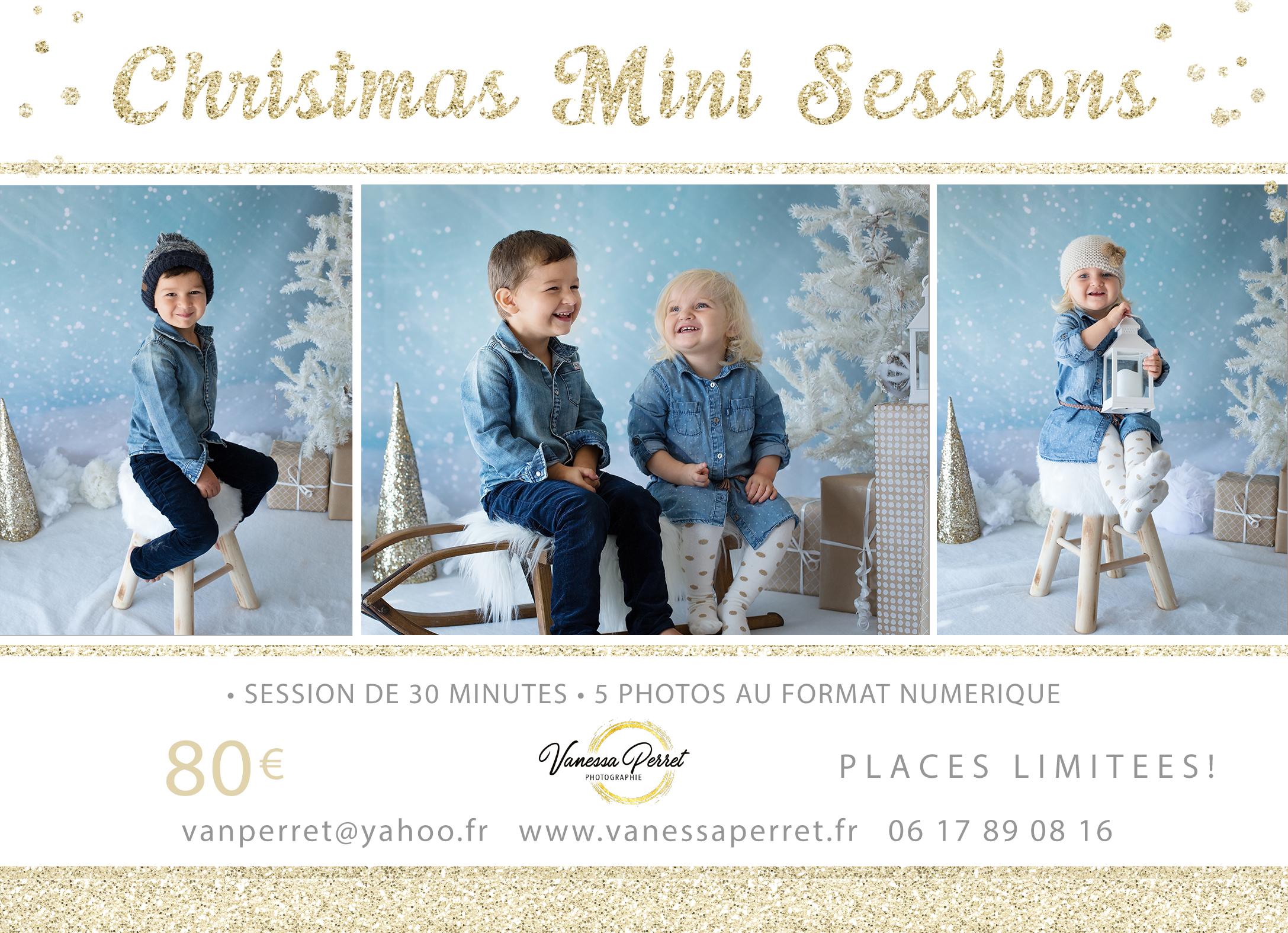 Minis séances photo de Noël